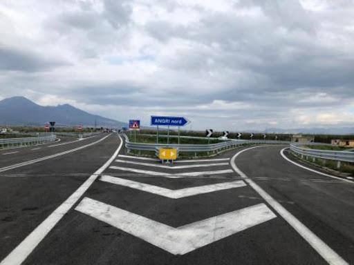 """COMPLETATI I LAVORI DEL NUOVO SVINCOLO AUTOSTRADALE DI ANGRI, COLLEGAMENTO CON LA STATALE 268 """"DEL VESUVIO"""""""