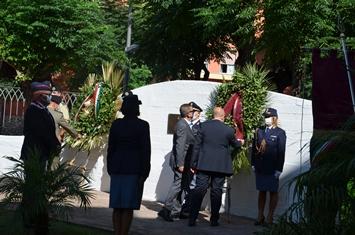 Terrorismo a Salerno, la Polizia commemora gli agenti uccisi nell'attentato delle Br nel 1982 a Torrione