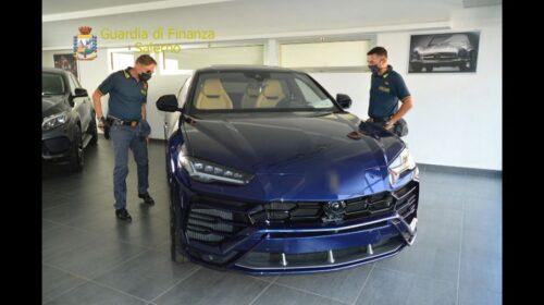 Riciclaggio auto di lusso, sequestro per 500mila euro a Sant'Egidio del Monte Albino
