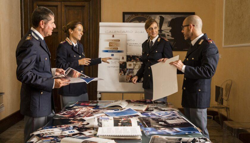 Polizia, Calendario 2021 per l'Unicef nella lotta al Covid 19