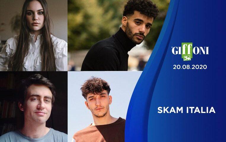 A #GIFFONI50 ARRIVA IL CAST DI SKAM ITALIA