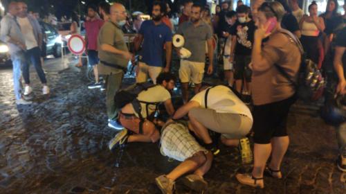 Carabiniere massacrato a Castellammare: 5 fermati, l'accusa è di tentato omicidio