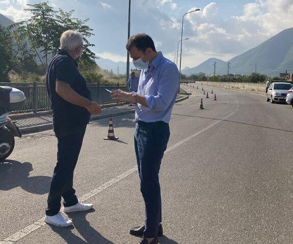 Piano Strade: s'insedia il cantiere per i lavori a Starza a Nocera Superiore