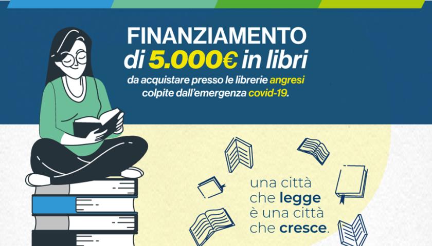 Angri – ottenuti 5.000 euro di contributi per l'acquisto di libri per la città