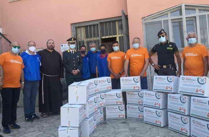 Finanzieri al banco alimentare Onlus donano 20mila pasti alle famiglie bisognose
