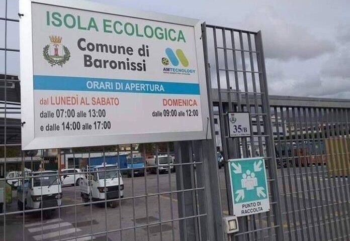 Baronissi – nel weekend l'isola ecologica resterà chiusa