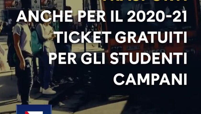 Campania – trasporti gratuiti per gli studenti, partita la nuova campagna abbonamenti