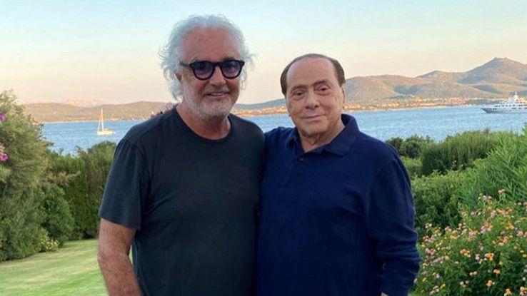 Briatore positivo: tampone per Berlusconi, Paolo Bonolis e il figlio