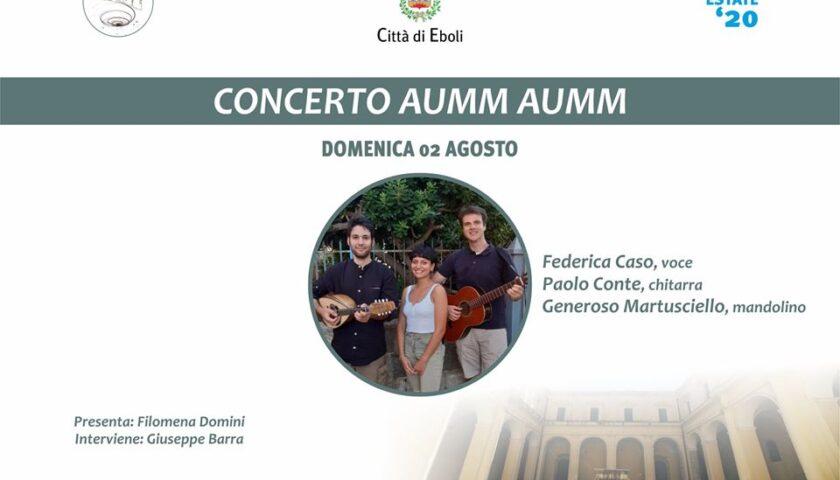 Eboli – torna la grande musica con il concerto del gruppo Aumm Aumm