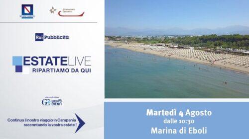 Domani fa tappa alla Marina di Eboli il tour Estate Live