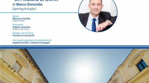 """Venerdì quarto appuntamento con """"Eboli Legge nel Chiostro"""""""
