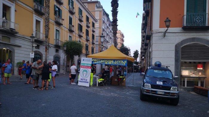 A Salerno domani parte la seconda distribuzione di mascherine