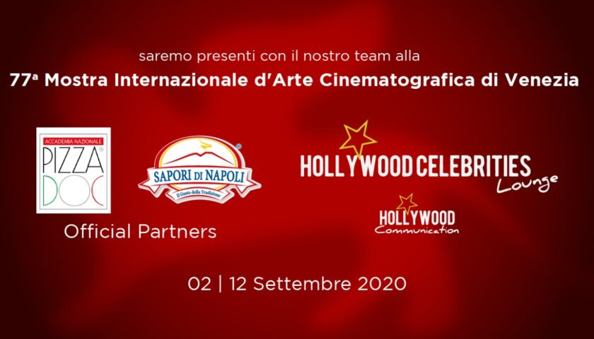 La pizza DOC ed i sapori di Napoli al 77esima Mostra del cinema di Venezia