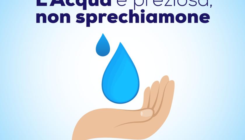 Pontecagnano – campagna di sensibilizzazione contro lo spreco dell'acqua