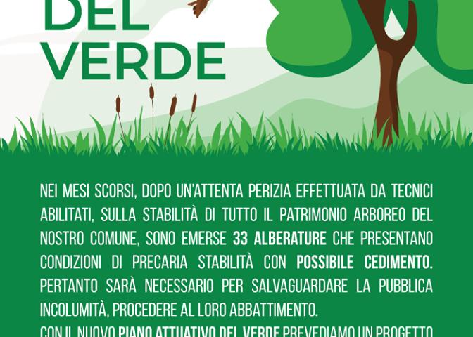 Pontecagnano – nuovo piano attuativo del verde