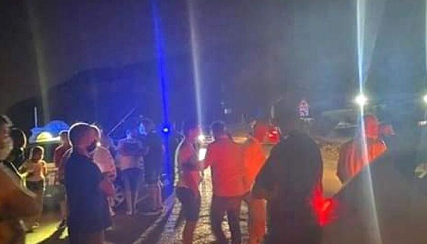 Biogas, notte di proteste a Sarno