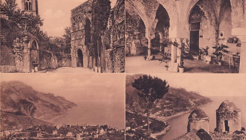 Annullo filatelico speciale nel 140° anniversario della visita di Wagner a Ravello