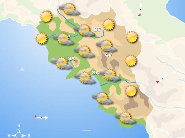 Meteo domani, tempo soleggiato in Campania