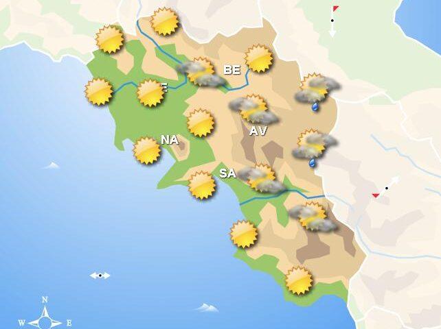 Meteo domani, in Campania mattina cielo sereno. Peggioramento nel pomeriggio
