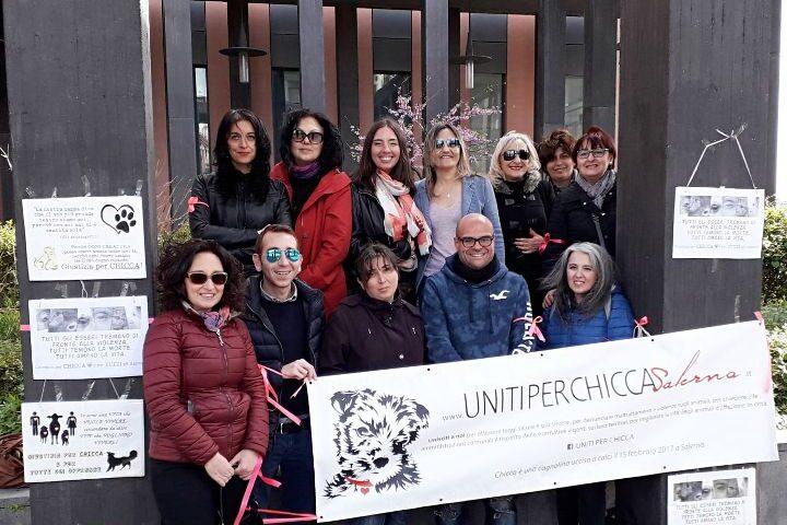 """Uccise cagnolina a calci a Salerno, venerdì processo bis con presidio del comitato """"Spontaneo per Chicca"""""""