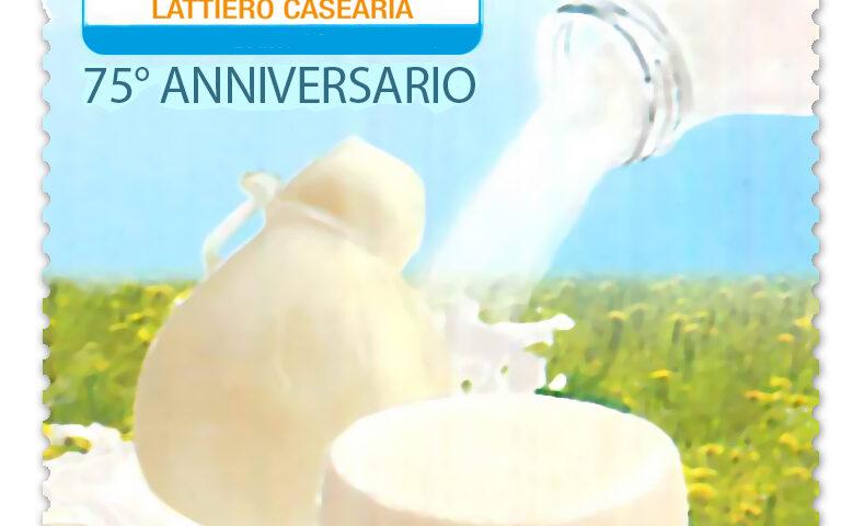 Poste Italiane, un francobollo per i Lattiero/Caseario