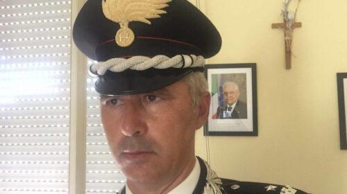 Il comandante dei carabinieri di Mercato San Severino Alessandro Cisternino promosso a Tenente Colonnello