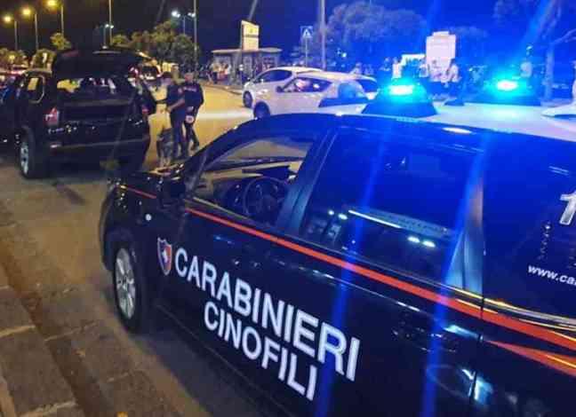 Operazione fine settimana sicuro, carabinieri in azione a Salerno