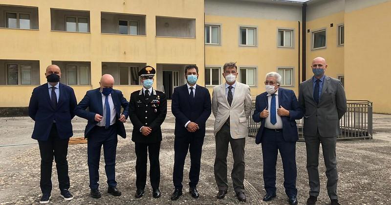 Il sottosegretario Tofalo alla conferenza di servizi sulla nuova Caserma Carabinieri a Vallo della Lucania