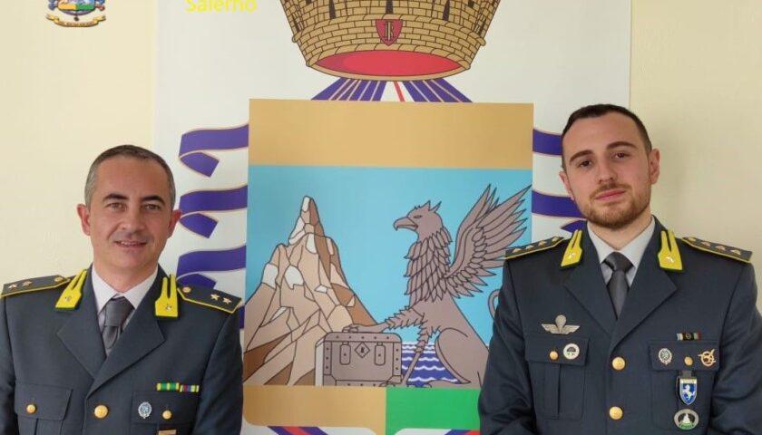 Cambio al vertice della Guardia di Finanza di Vallo della Lucania: arriva il tenente Tufano