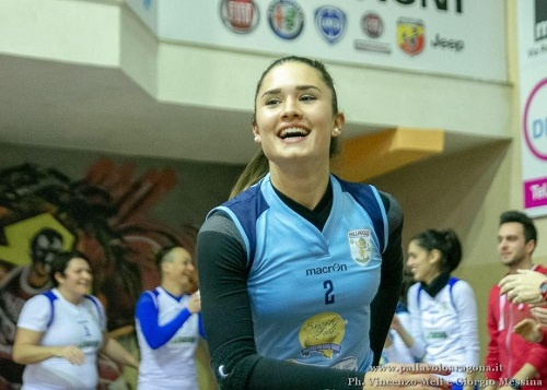 Volley mercato, Martina Marangon è il nuovo libero della P2P Baronissi