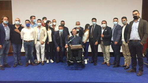 Danilo Carbone e il nuovo presidente dell'Ance Aies Giovani