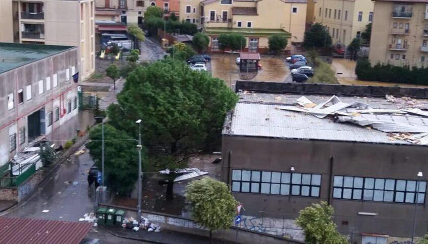 """Maltempo a Cava de' Tirreni, Servalli: """"Non uscite di casa"""""""
