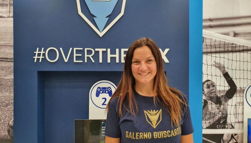 Polisportiva Salerno Guiscards, Maria Luisa Marra in cabina di regia per il team volley