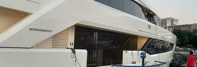 """Nel porto di Agropoli attracca lo Yacht """"Serenity"""" della principessa del Bahrein"""