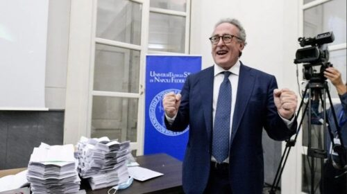 Pellezzano, il professore Matteo Lorito nuovo rettore dell'Università Federico II di Napoli