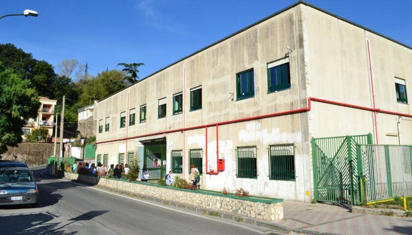 Cava de' Tirreni, domani riapre la scuola media Monticelli a Santa Lucia