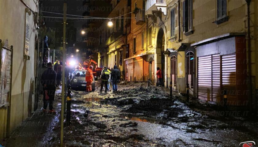 """A Sarno 250 sfollati, il sindaco: """"Abbiamo reagito ancora una volta"""""""