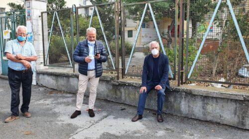 Maltempo a Salerno, nuovo sopralluogo del sindaco Napoli e operai a lavoro