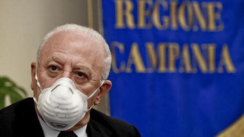 Coronavirus in Campania: De Luca chiede rigore e senso responsabilità