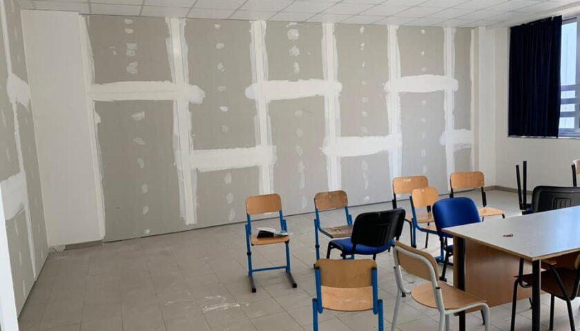 Battipaglia – proseguono i lavori nelle scuole per l'adeguamento e il rispetto delle norme anti-covid19