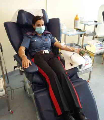 Carenza di sangue al Ruggi di Salerno, 40 carabinieri per la donazione