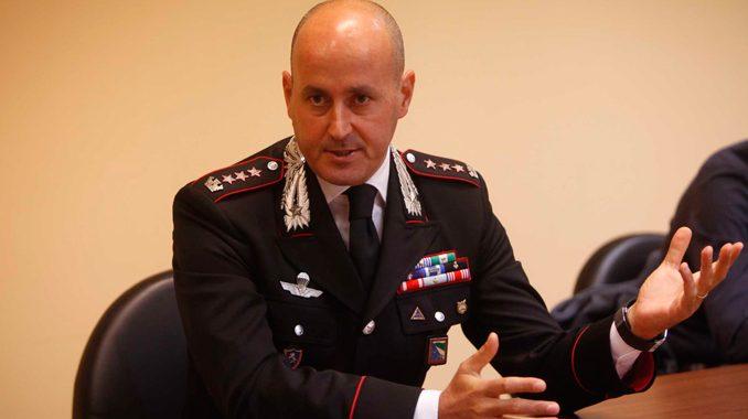 L'ex comandante dei carabinieri di Nocera Inferiore Massimo Cagnazzo lascia il comando provinciale di Avellino