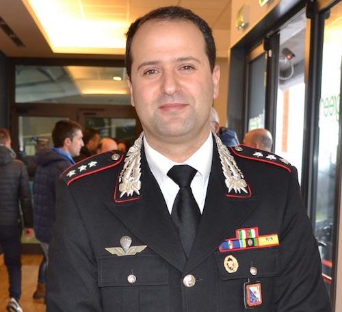 Sala Consilina, Cristinziano nuovo comandante dei carabinieri. Acquaviva va a Castel Gandolfo