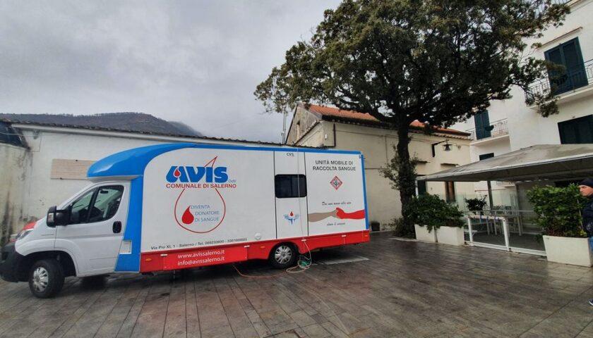 """Ravello – il 26 settembre """"giornata del dono del sangue"""" in Piazza Fontana Moresca"""