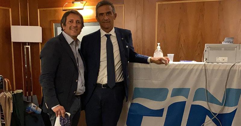 Il presidente della Rari Nantes Salerno Enrico Gallozzi eletto consigliere regionale della FIN