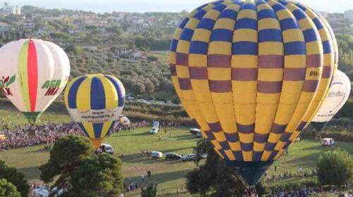 Nel cielo di Capaccio/Paestum il festival delle mongolfiere