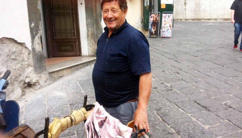Lutto nel centro storico di Salerno, muore Giggino Ianniello