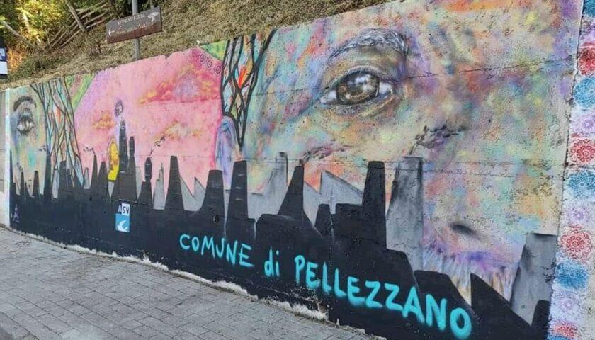 Un murales a Pellezzano contro l'inquinamento