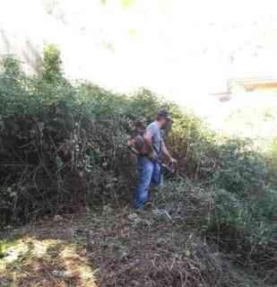 Pellezzano, operai al lavoro per ripulire località Grotte