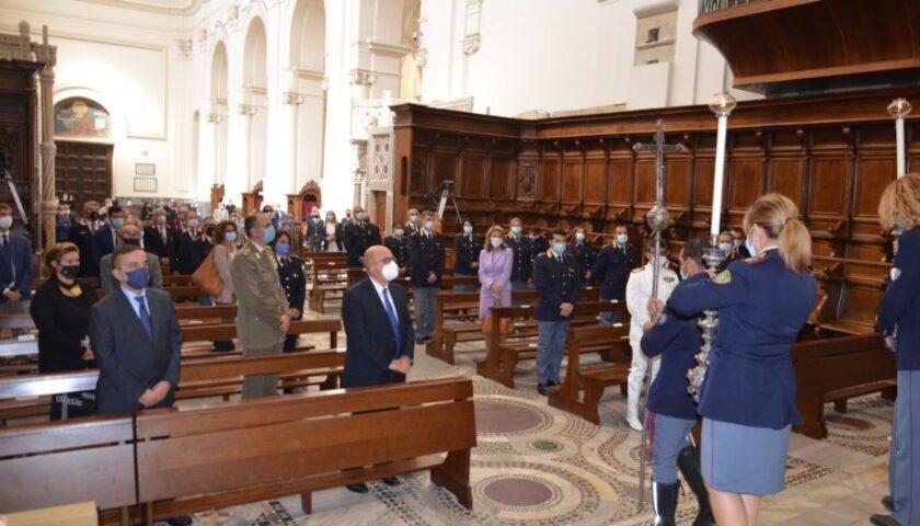 """Polizia, Santa Messa per San Michele. Il vescovo Bellandi: """"Simbolo di speranza"""""""